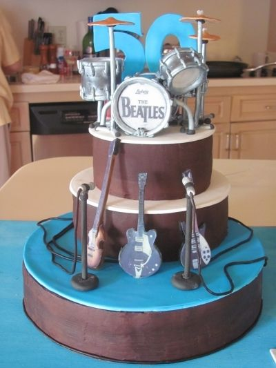 The Beatles 1964 By Millmika on CakeCentral.com: The Beatles, Cakes Cupcakes, Amazing Cakes, Cool Cakes, Music Band Cake, Beatles 1964, Music Cake, Beatles Cakes