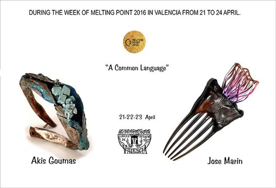 A Common Language by José Marín and Akis Goumas Exhibition  /  21- 24 Apr 2016 - Círculo de Bellas Artes de Valencia - Cadirers 5 46001 -  Valencia SPAIN: