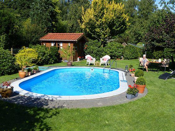 Ohne einen Swimmingpool ist ein Garten nur halb so schön #pool - kosten pool im garten