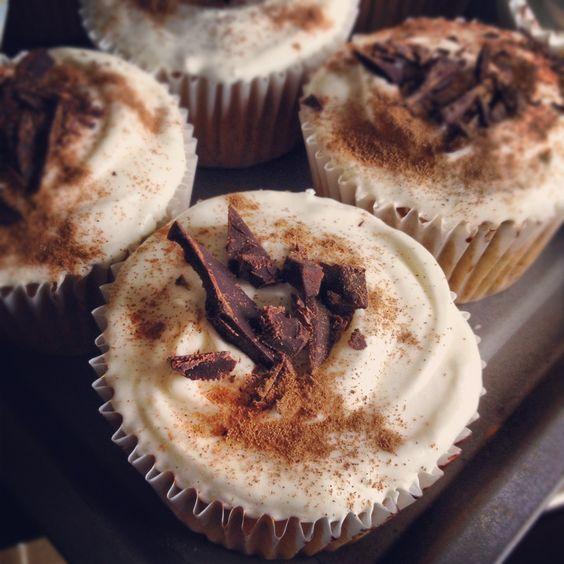Banofee cupcake