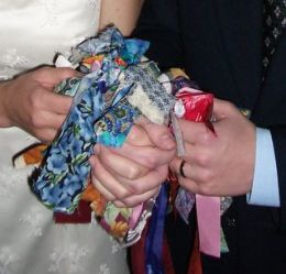 Handfasting is an ancient Celtic tradition.