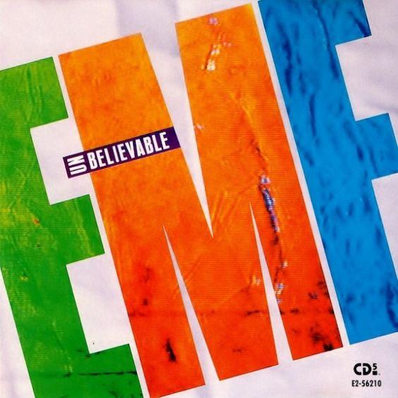 EMF – Unbelievable (single cover art)