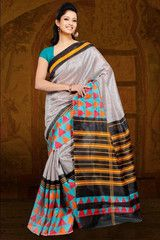Multi Color Bhagalpuri Casual Wear Sarees : Avisha Collection YF-37079