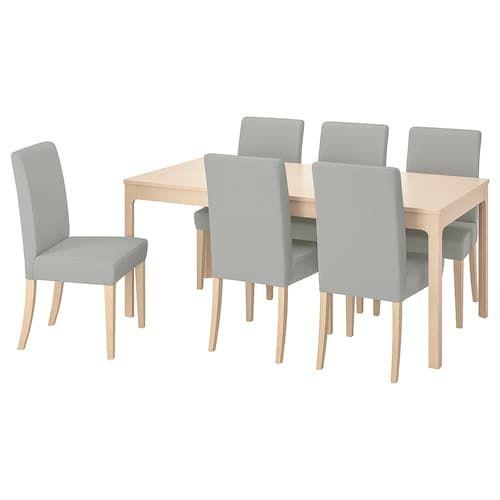 Ikea Ekedalen Henriksdal Table Et 6 Chaises Table Cuisine Ikea Chaise De Cuisine Ikea Table Et Chaise Ikea