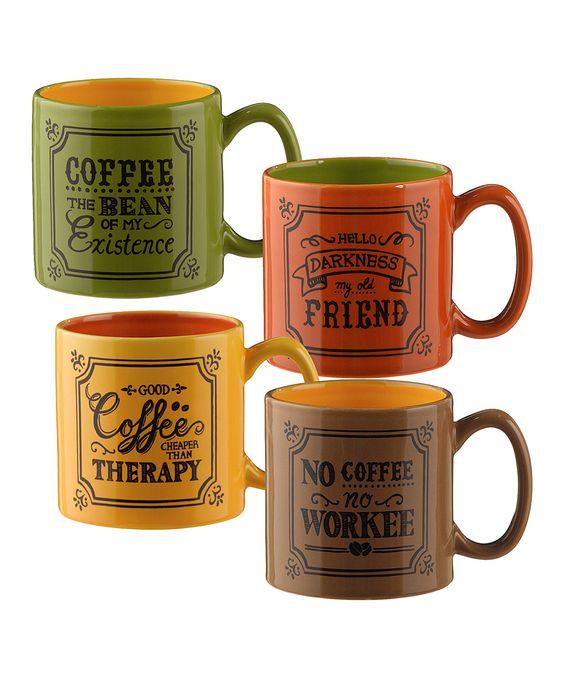 Mugs set mugs and old friends on pinterest for Grasslands road mugs