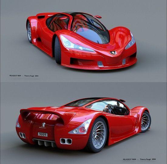 Stunning Peugeot Supercar Celebritys Sport Cars Ferrari Vs