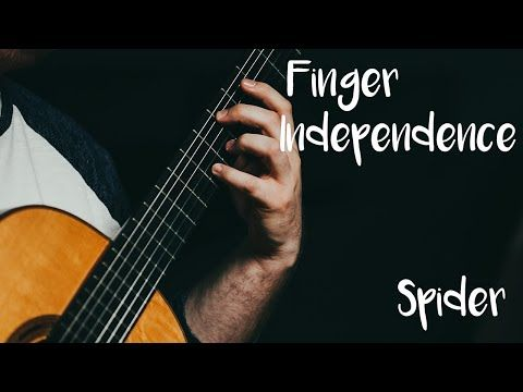 Guitar Technique Finger Independence The Spider Youtube Guitar Independence Techniques
