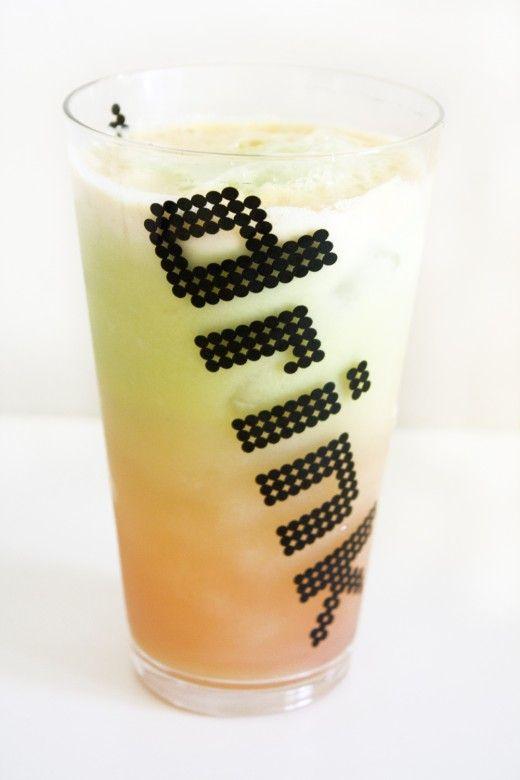 rainbow sherbet Juice