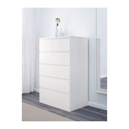 Malm 6 Drawer Chest White Ikea Ikea Malm Small White Dresser Ikea