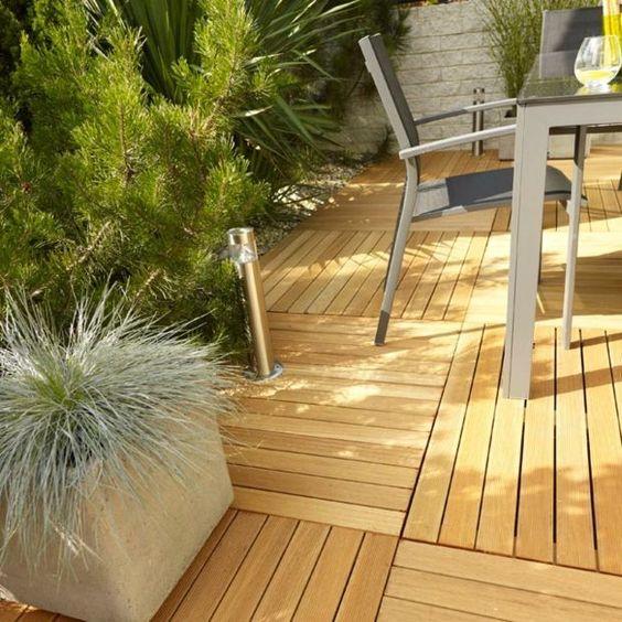 Caillebotis bois pour le sol de votre balcon et terrasse  Design
