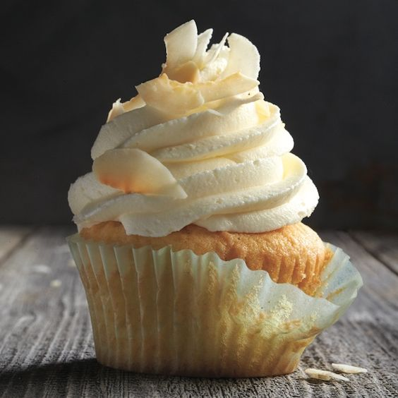 Light, airy and extra coconutty, these delicious coconut cupcakes will be a hit every time you make them. Find more recipes at Chatelaine.com