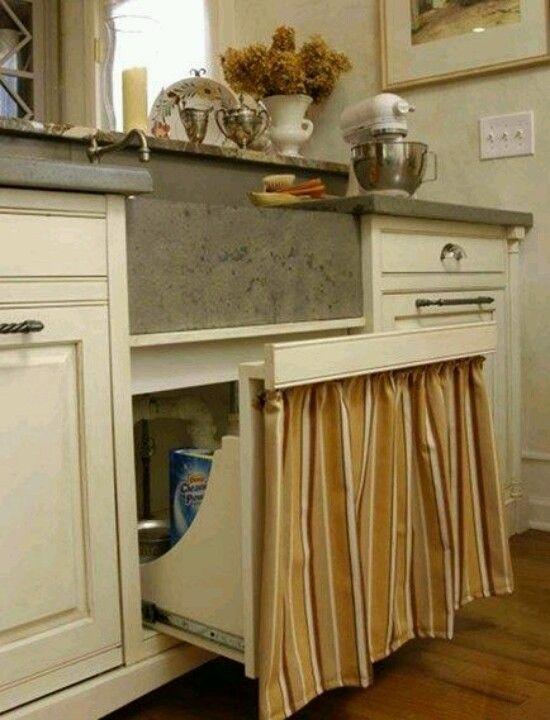 Cabinet Doors Under Sink And Sinks On Pinterest
