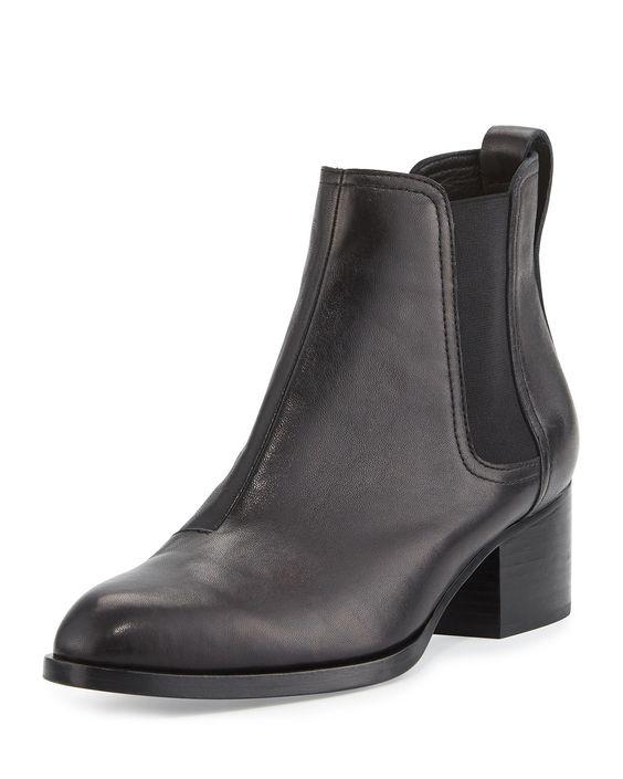 Walker Leather Ankle Boot, Black - Rag & Bone