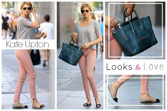 Looks to Love: Kate Upton's Airport Attire