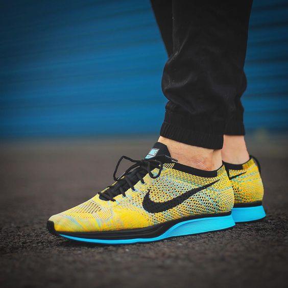 Nike Flyknit Racer: Sherbert