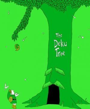 Legend of Zelda Ocarina of Time-The Deku Tree