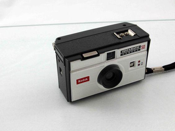 Vintage Kodak Instamatic 50 Film Camera by Neandercol on Etsy