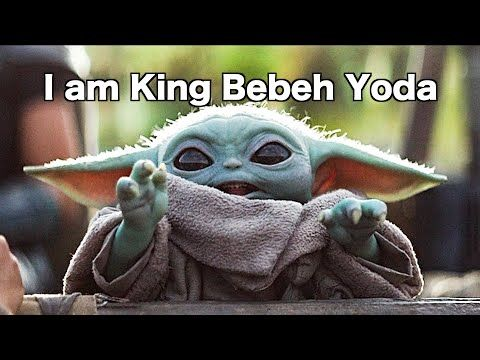 Baby Yoda Being Adorable With Subtitles Even More Youtube Funny Star Wars Memes Yoda Star Wars Memes