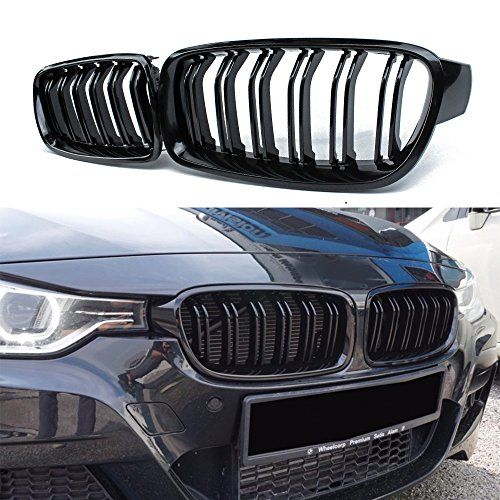 Front Grille Kidney Grill Replacement For Bmw 3 Series F30 F31 Abs Gloss Black Bmwfiend Com In 2020 Bmw 3 Series Bmw Bmw Parts