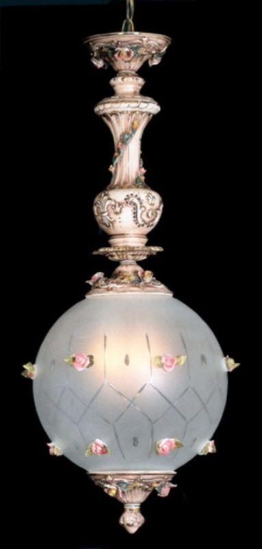 Capodimonte Antique Ceiling Lamp
