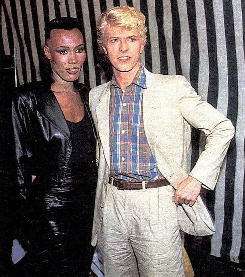 Pin By De Falla On Bowie Bowie Grace Jones David Bowie