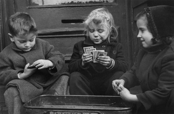 Ruth Orkin: The card players New York 1940