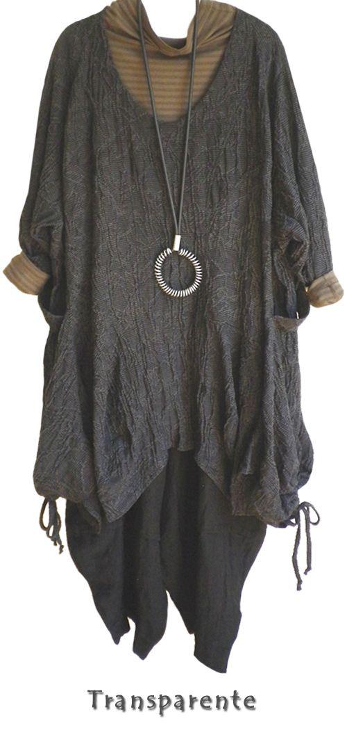 Layered grey/brown: