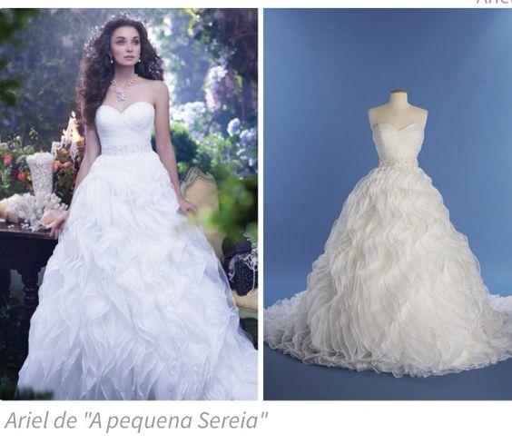 Vestido de noiva Ariel