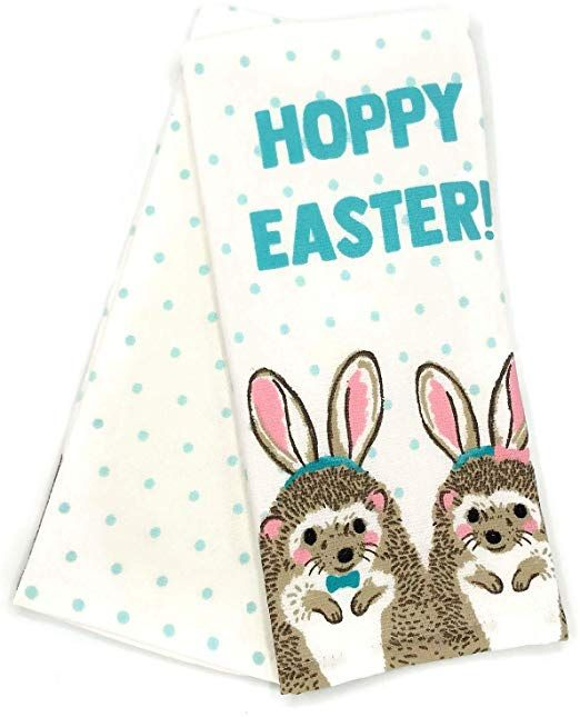 Hello Spring Easter Kitchen Decor Spring Kitchen Decor Set of 2 Easter Dish Towels for Cooking Baking Springtime Wishes Sweet Bunny Kisses Easter Kitchen Towels Easter Decorations