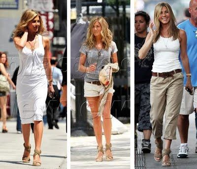 Jennifer Anniston - neutral looks