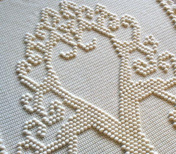 Tree of Love Heirloom Afghan $2.99/pattern
