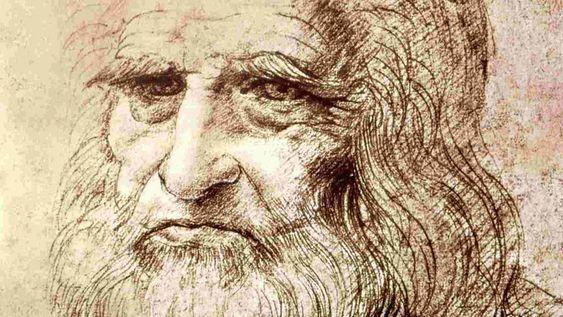 Autorretrato, Leonardo da Vinci, 1512 – 1600