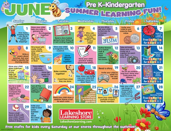 Kids Learning Calendar : Fun printable learning activities for toddlers free
