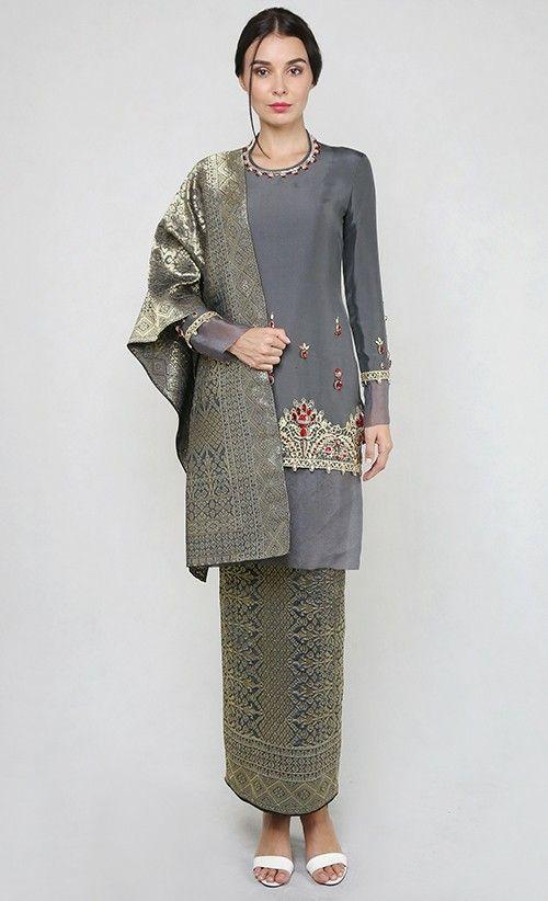 Baju Songket Wanita Terbaru