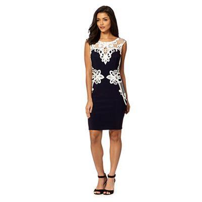 Black and white dress at debenhams