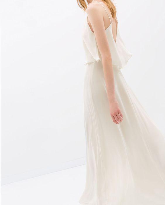 Image 6 de ROBE LONGUE FINES BRETELLES de Zara