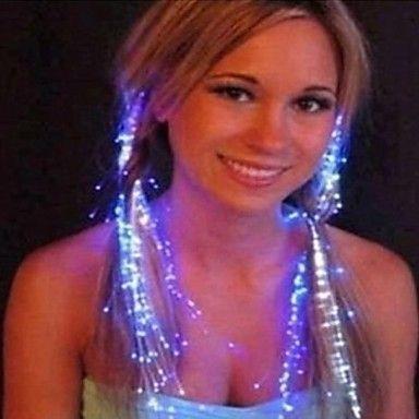 moda cintas luminosa perucas do partido – BRL R$ 13,87