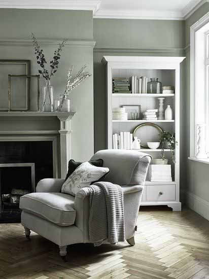 Cosy Living Room, Sage Living Room Ideas