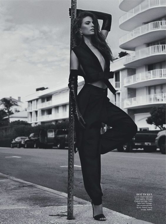 cameron russell by benny horne for vogue australia february 2013