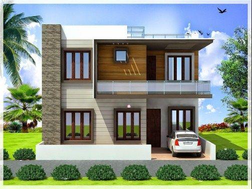 House Design 1000 Sq Ft Duplex House Design Small Modern House Plans House Front Door Design