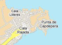 Info-Seite über Cala Ratjada