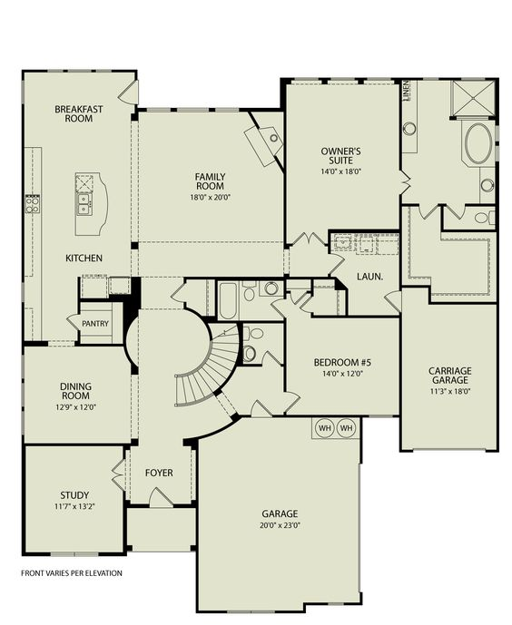 SACRAMENTO III 123 Drees Homes Interactive Floor Plans Custom