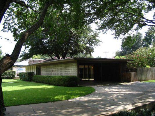 Charles Goodman Architect 1953 Hollin Hills DC | Mid-century modern ...