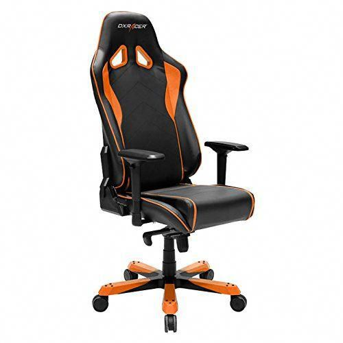 Dxracer Oh Sj08 No Sentinel Series Black And Orange Gaming Chair