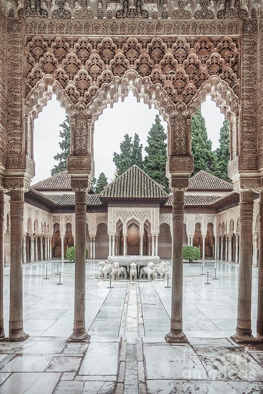 Time Temple Art Print By Evelina Kremsdorf In 2020 Moorish Architecture Temple Art Art Prints