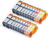 20 Pack Compatible Canon CLI-226 , PGI-225 4 Small Black, 4 Cyan, 4 Magenta, 4 Yellow, 4 Big Black for use with Canon PIXMA iP4820, PIXMA iP4920, PIXMA iX6520, PIXMA MG5120, PIXMA MG5220, PIXMA MG5320, PIXMA MG6120, PIXMA MG6220, PIXMA MG8120, PIXMA MG8120B, PIXMA MG8220, PIXMA MX712, PIXMA MX882, PIXMA MX892. Ink Cartridges for inkjet printers. By © Blake Printing Supply