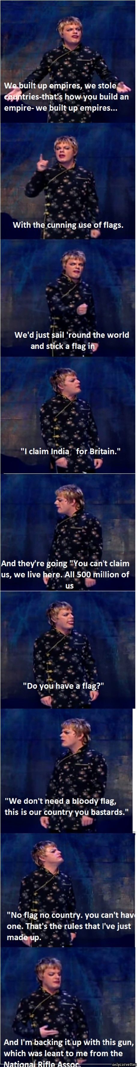 Eddie Izzard - God bless this hilarious man!