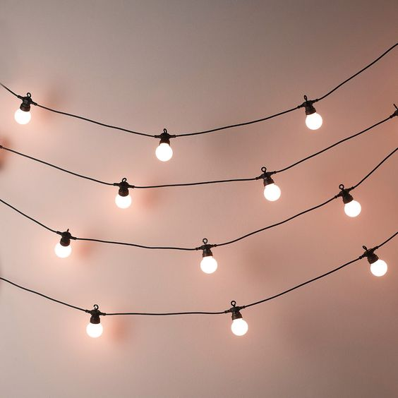 Indirect lighting, magic Bistro Bulb Fairy Lights (20 Bulbs) | The White Company