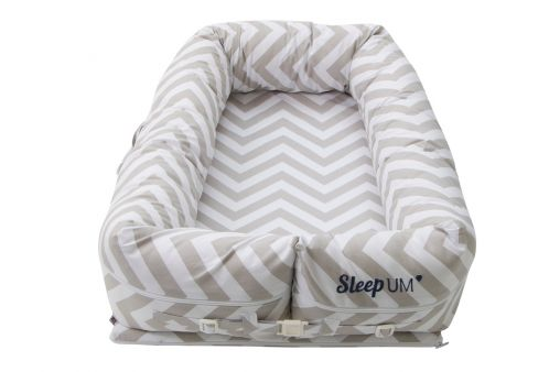 Moisés para Bebê Berço Portátil Sleep Um Chevron Zig Zag