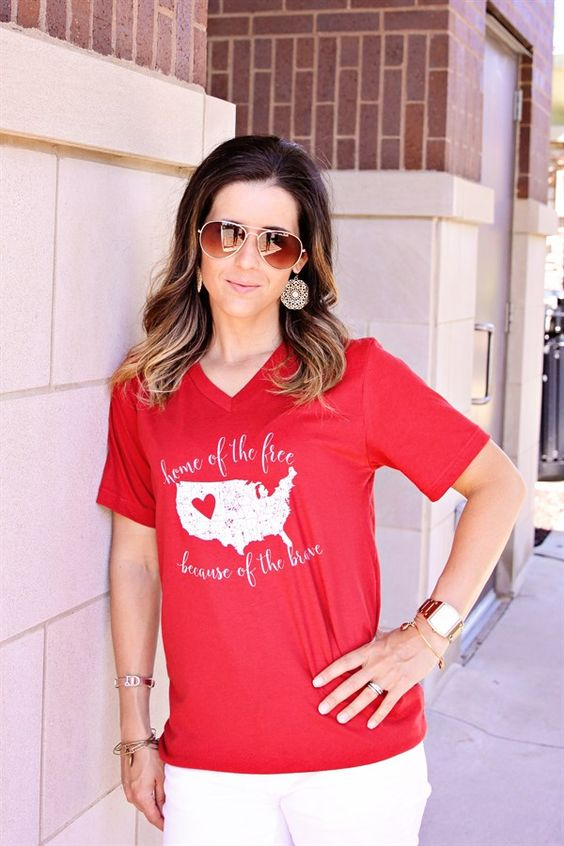 Show your love for the land that you love with a graphic tee! 2 Styles Available.